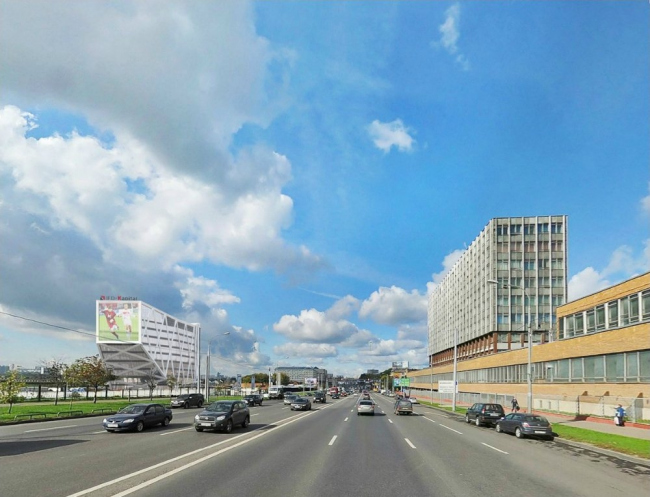 Бизнес-центр на Волоколамском ш., вл. 67 © SPEECH