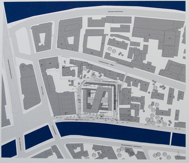 Предпроектное предложение по строительству многофункционального административного комплекса по адресу: Садовническая наб., вл. 3-4
