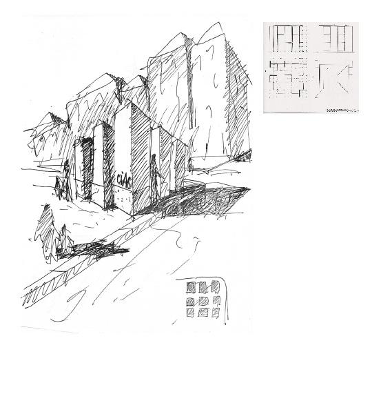 Конкурсный проект павильонов CIAC для разных городов Португалии. 1986. 1-я премия