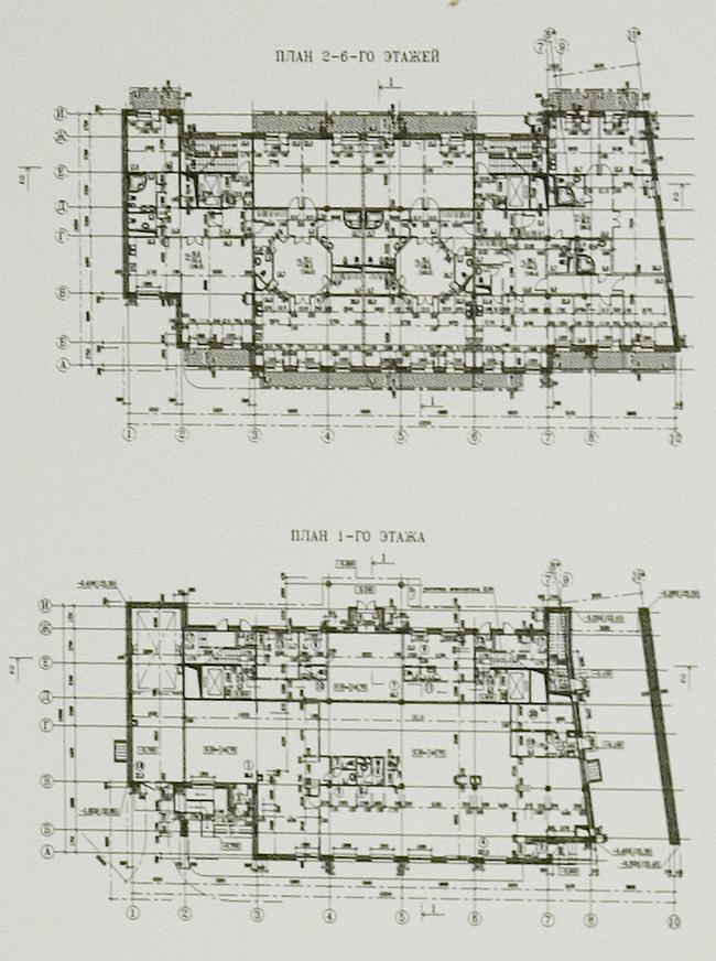 Проект строительства жилого дома с подземной автостоянкой по адресу: Лавров пер., вл.8