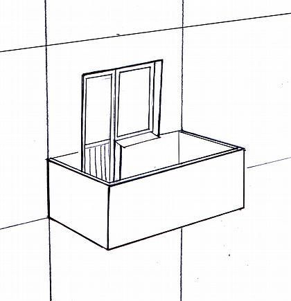 Рис. 1. Балкон а) консольный