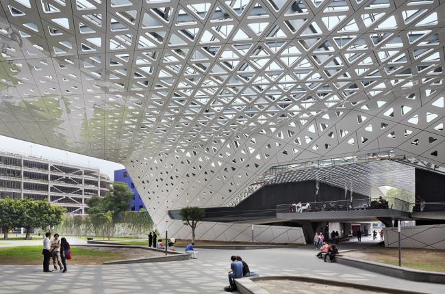 Национальный киноархив XXI века. Фото: Paul Rivera © Rojkind Arquitectos