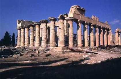Храм Зевса в Кирене. 5 в. до н. э.