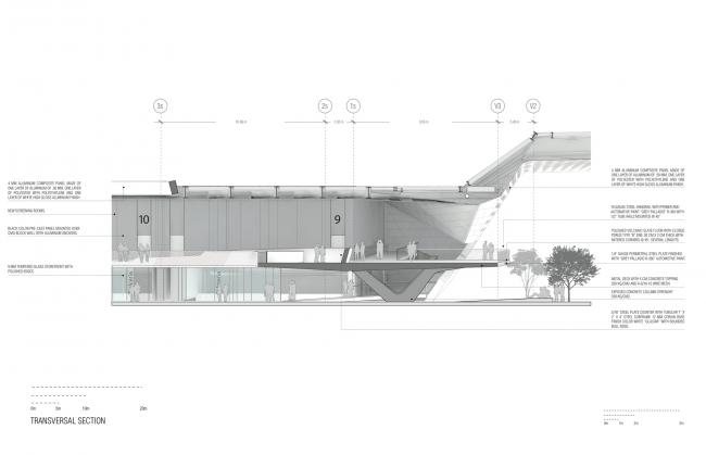 Национальный киноархив XXI века © Rojkind Arquitectos