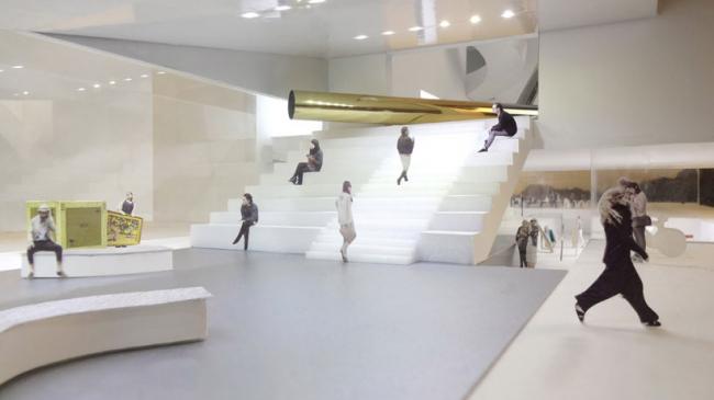Культурный центр ArtA © Architecture Studio HH, SO-IL, ABT