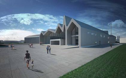 Музей транспорта в Глазго. Проект 2006 г.