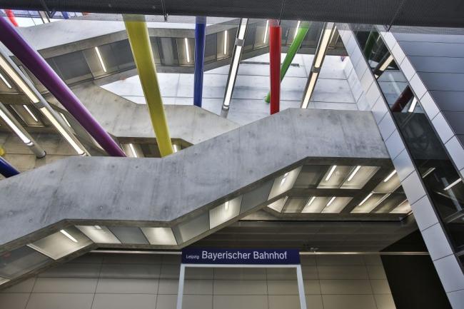 Станция городской электрички «Баварский вокзал». Фото с сайта citytunnelleipzig.de