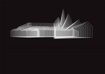 Музей транспорта в Глазго. Проект 2007 г.
