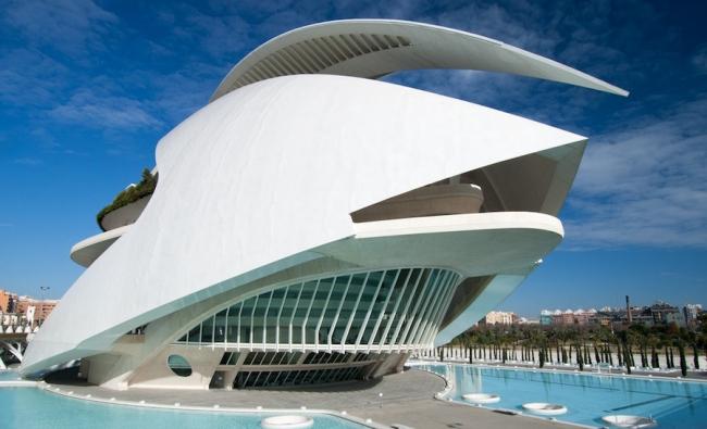 Оперный театр в Валенсии. Фото: blog.archpaper.com