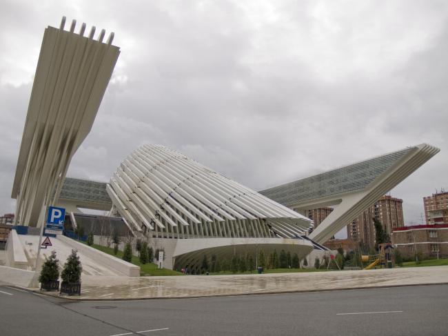 Дворец конгрессов в Овьедо. Фото: es.wikipedia.org