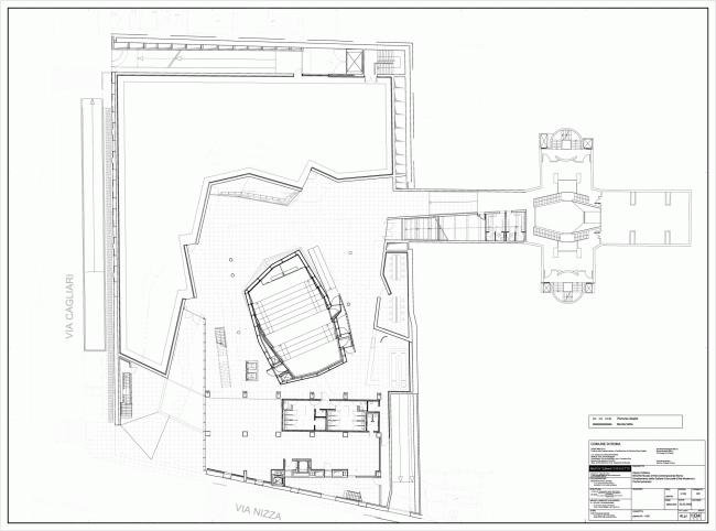 Музей современного искусства MACRO – новое крыло © Odile Decq