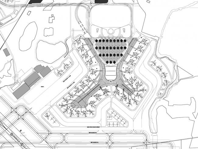 Терминал 2 Аэропорта Чатрапати Шиваджи © SOM