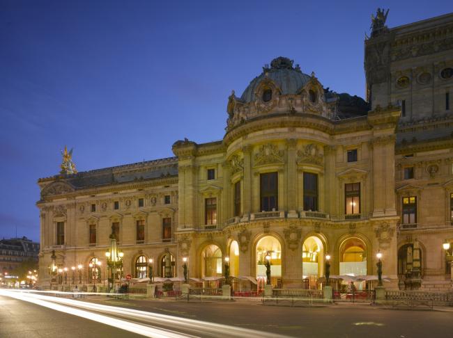Ресторан Phantom в «Гранд-Опера» © Odile Decq – Roland Halbe