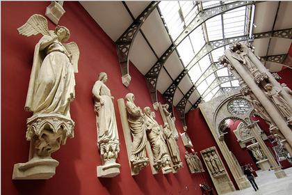 Зал слепков Центра архитектуры и наследия во Дворце Шайо