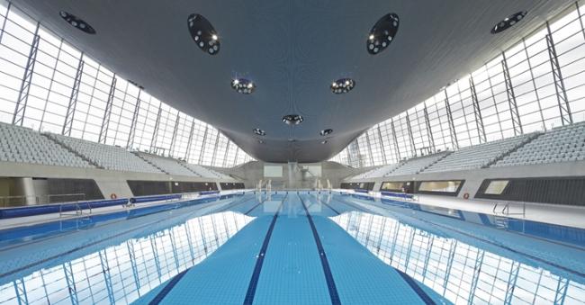 Олимпийский центр водных видов спорта. Фото 2014 © Hufton + Crow