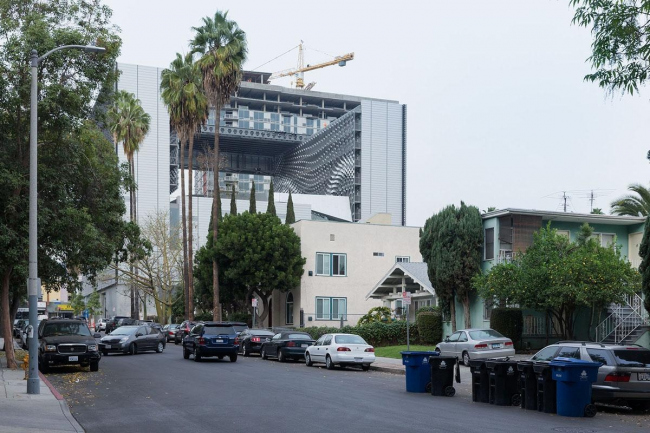 Колледж Эмерсона – здание в Лос-Анджелесе © Iwan Baan. Фото с сайта morphopedia.com
