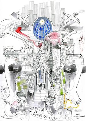 Победитель среди студентов–Theo Games Petrohilos. Источник:www.architectsjournal.co.uk