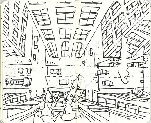 Финалист конкурса Stefan de Bevers. Источник:www.architectsjournal.co.uk