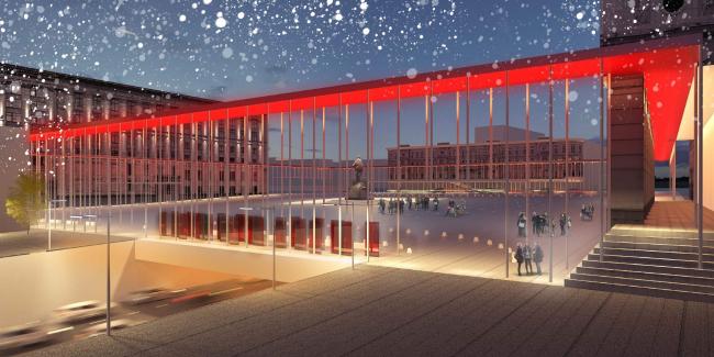 Концепция благоустройства Триумфальной площади. «Мэгли Проект»