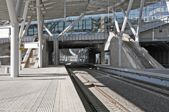 Вокзал «Олимпийский парк» © «Студия 44»