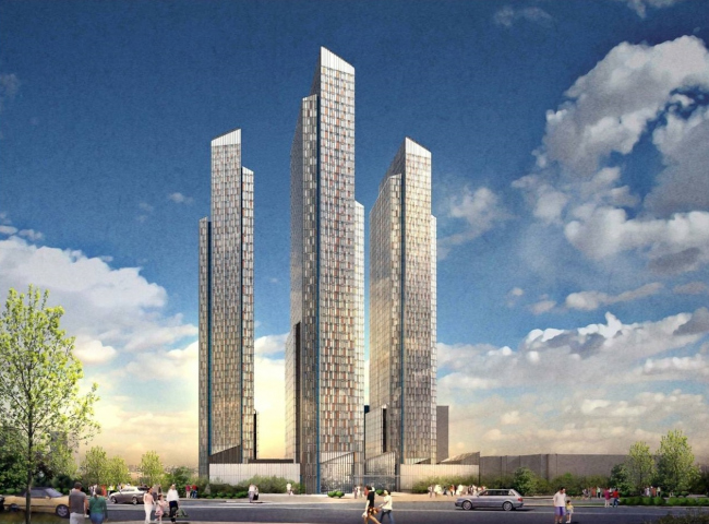 Многофункциональный жилой комплекс в районе Свиблово / Swanke Hayden Connell Architects