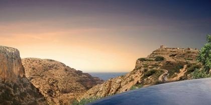 Норман Фостер. Проект отеля на краю пропасти в Джабар аль Акдар