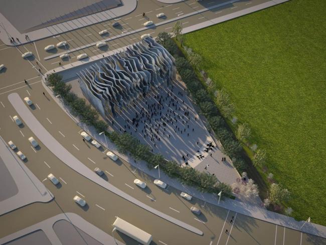 Проект команды Szylinger © National Holocaust Monument Development Council