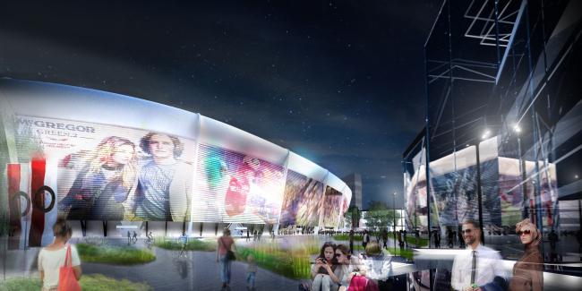Стадион клуба Feyenoord и спорткомплекс Varkenoord © Erick van Egeraat