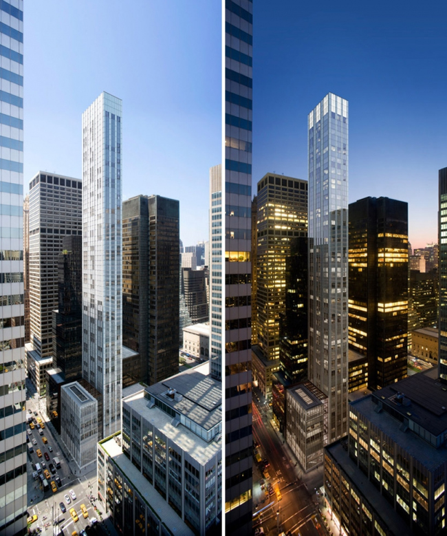Жилой комплекс 610 Lexington Avenue © Foster + Partners