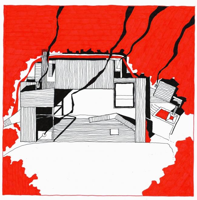 Дом Ultra-ruin © Marco Casagrande