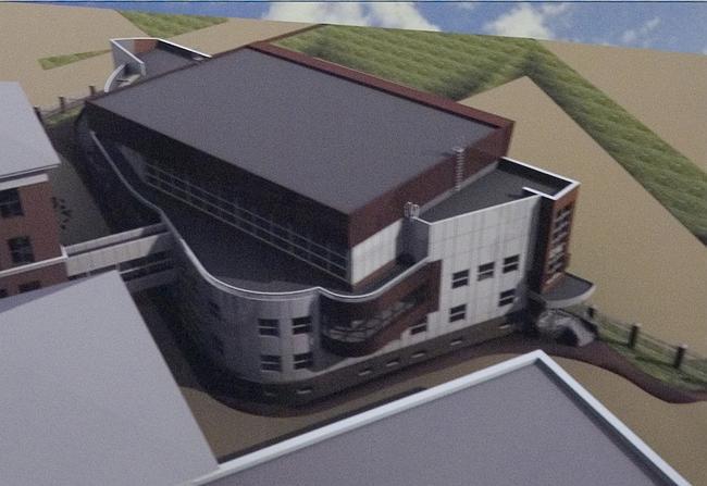 Предпроектное предложение по строительству универсального спортивного комплекса по адресу: Малый Саввинский переулок, вл. 8а.