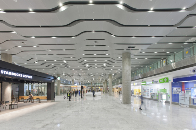 Аэропорт «Пулково». Новый терминал.