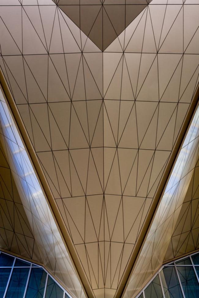 Аэропорт «Пулково». Новый терминал. Фото © Юрий Молодковец. Предоставлено Grimshaw Architects