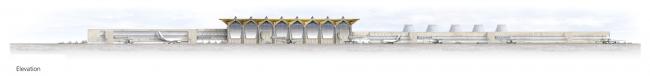 Аэропорт «Пулково». Новый терминал © Grimshaw Architects
