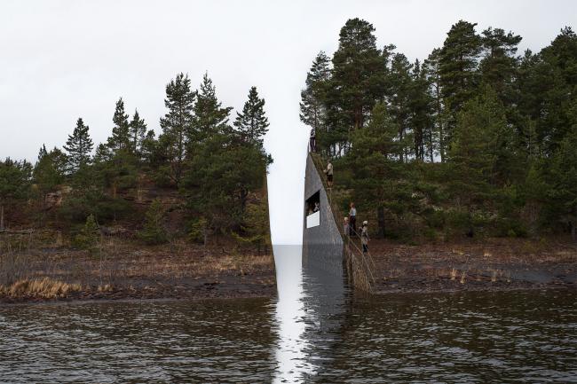 Мемориал на Сёрбротене © Jonas Dahlberg, предоставлено KORO