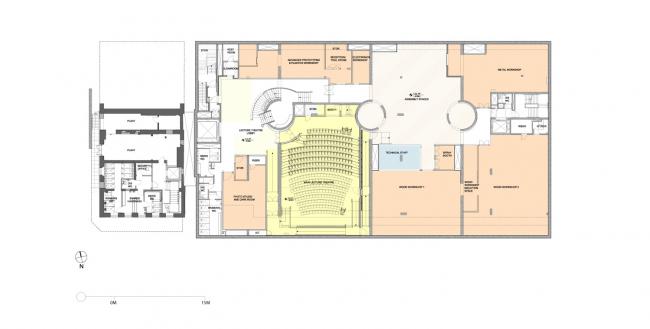 Корпус Рейд Школы искусств Глазго © Steven Holl Architects