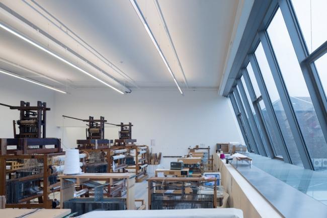 Корпус Рейд Школы искусств Глазго © Iwan Baan