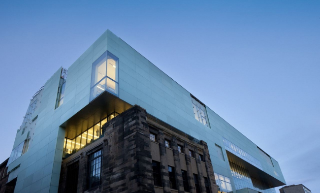Корпус Рейд Школы искусств Глазго © Alan McAteer