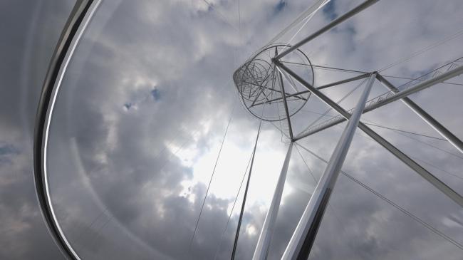 Первое место в конкурсе на проект Телебашни в Сантьяго. Smiljan Radic + Gabriela Medrano + Ricardo Serpell. Иллюстрация: www.Minvu.cl
