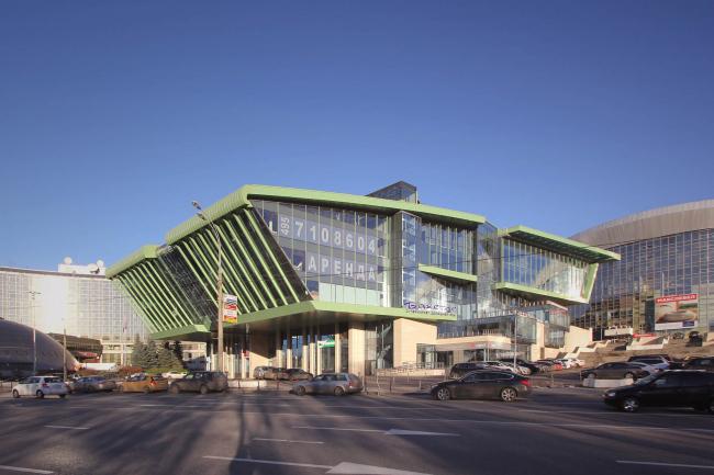 Бизнес-центр «Олимпик-холл». Реализация, 2013 © Архитектурное бюро Асадова