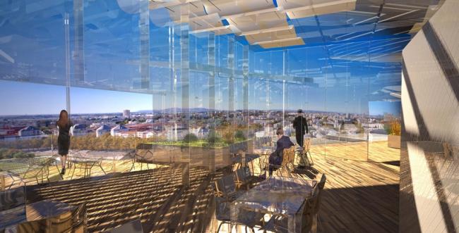 Башня Arbre Blanc © RSI-studio, Sou Fujimoto Architects, Nicolas Laisné Associés, Manal Rachdi Oxo Architectes