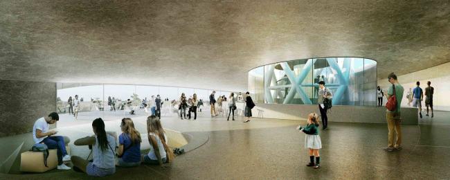 2-е место. Snøhetta & Özer/Ürger Architects & Battle Mccarthy
