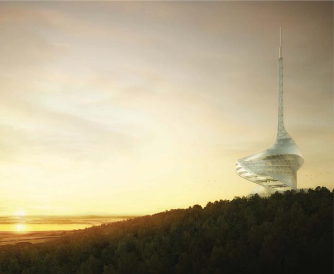 Поощрительная премия. Проект Olaf Gipser Architects, Arup, DS Mimarlık