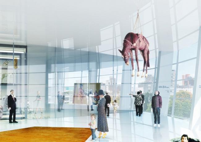 Фондохранилище Музея Бойманса–ван Бёнингена © MVRDV / Antonio Coco