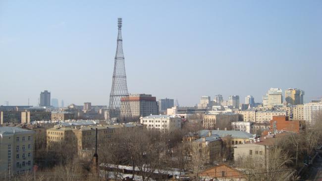 Шуховская радиобашня © Александра Селиванова
