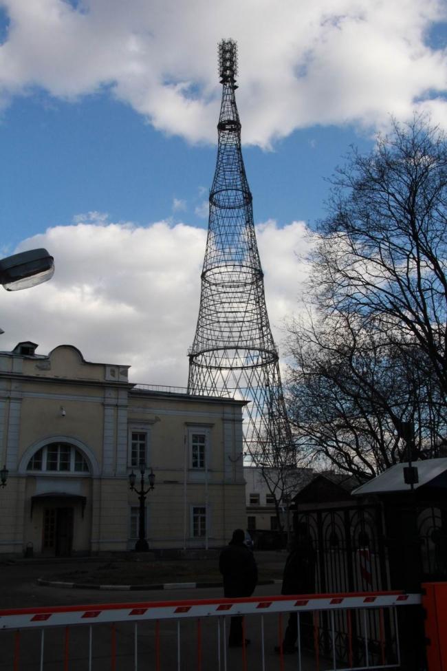 Шуховская радиобашня © Юлия Тарабарина