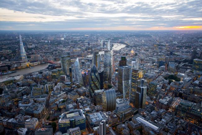 Небоскребы Лондона. Фотография предоставлена NLA