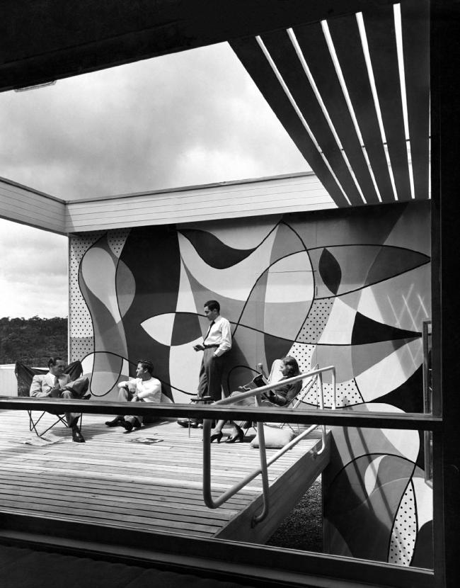Дом Розы Сайдлер, Варунга, Сидней, Австралия, 1948-50 гг. Фото © Harry Seidler