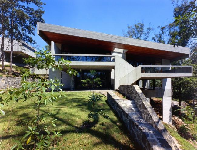 Собственный дом четы Сайдлер. Киллара близ Сиднея, 1966-67; фото Макса Дюпена
