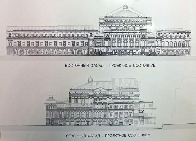 Проект реставрации и реконструкции Государственного академического Мариинского театра. Пересъемка: Алёна Кузнецова.